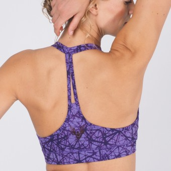 "Bra-Top ""Siwa"", purple"
