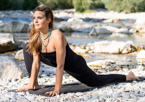 Yoga-Jumpsuit - jet black