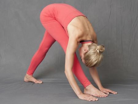 Yoga-Neckholder-Top mit Bra - watermelon