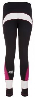 "Active Leggings ""Roxy"" - black/fuchsia/white"