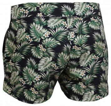 """Yoga Short """"Hawaii"""" - green"""