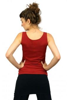 """Yoga-Top """"Sohang"""" - bordeaux"""