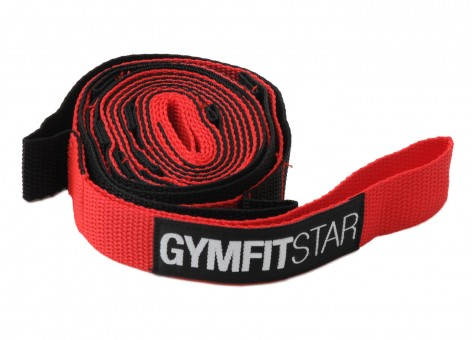 Dynamic Stretching Strap - red-black