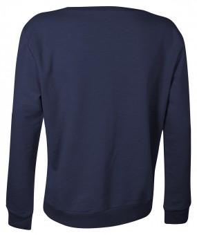 """Sweatshirt """"Yoga"""", navy"""