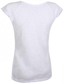 """Yoga T-Shirt """"Pigment dyed"""" leaf - hellgrau"""