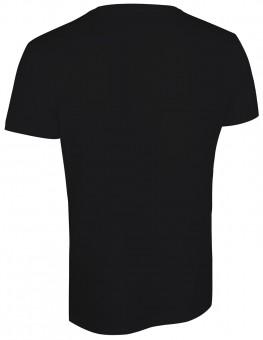 """Yoga T-Shirt """"Savasana"""" - schwarz"""