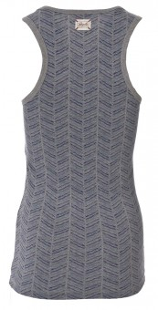Tank-Top soft, melange printed