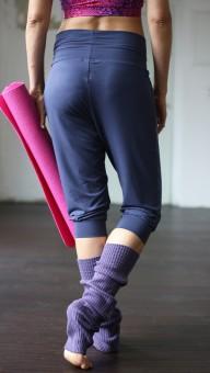 """Yoga-Pant """"Padmini"""" Capri, indigo"""