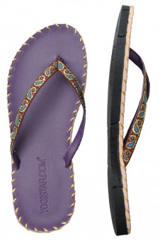 Yoga Sandale - purple
