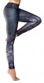 "Yoga Leggings ""Midnight Kiss"""