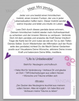 "Mini-Yandala - ""Life is unbelievable"""