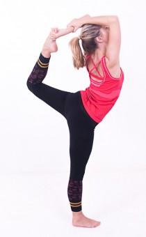 Hatha-Yoga-Capri - black
