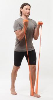 Banda elástica para pilates, sin látex - medium, verde