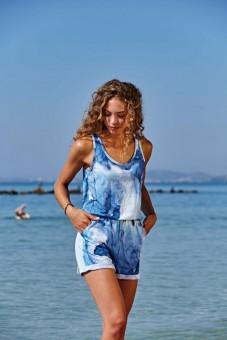 """Jumpsuit """"Ocean"""" - blau"""