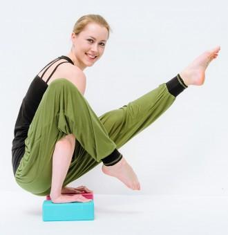 "Yoga-Pants ""Vinyasa"", olive"