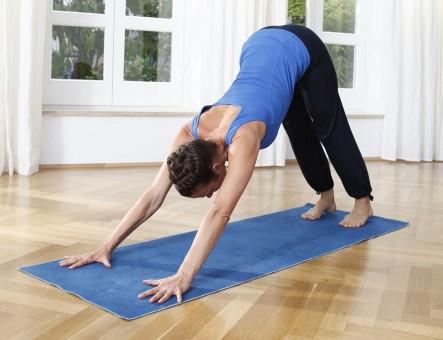 Yogamatte hot yoga