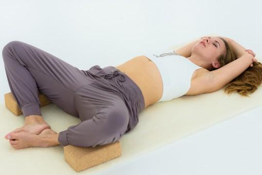 """Yoga-Hose """"relaxed"""" - nougat"""