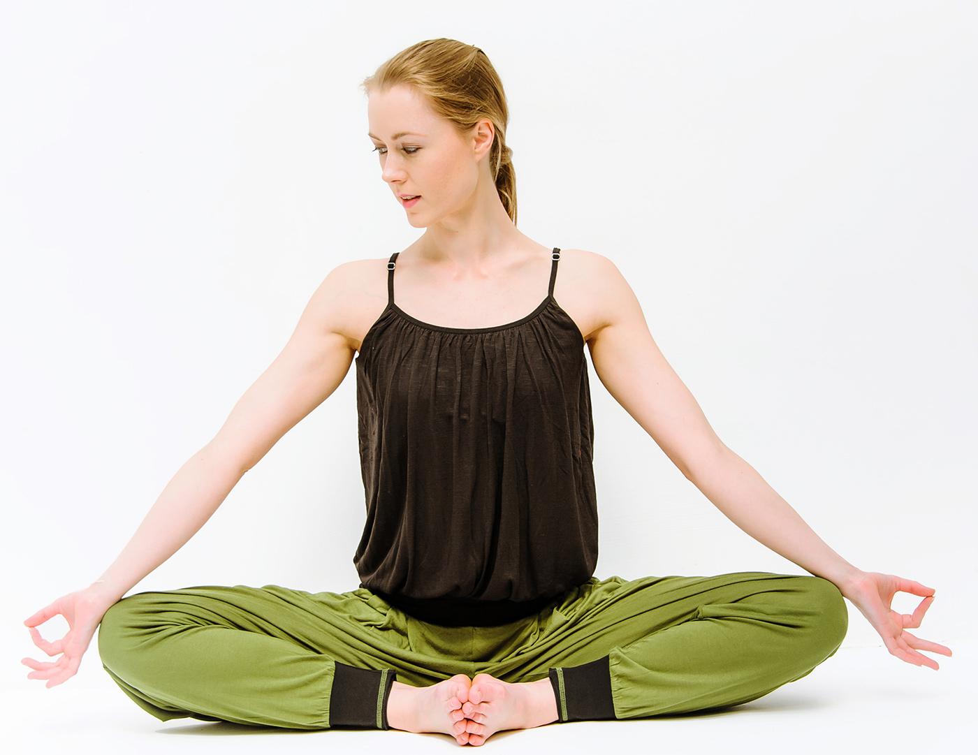 Olive yoga pants-7877