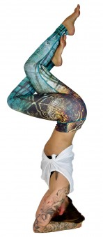 "Yoga Leggings ""Calypso"""