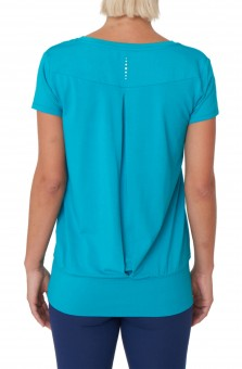 "Yoga-T-Shirt ""Smooth you"" - seafoam"