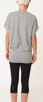 "Yogi-Tee ""Freedom"" - pale grey marl"