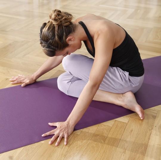 Yoga mat 'sun' travel