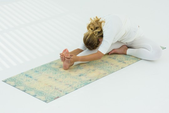 Yoga mat 'Pure eco art collection'