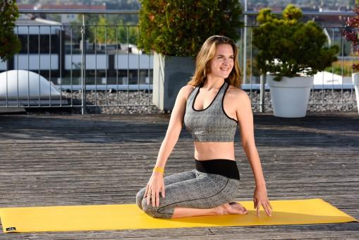 Yoga mat 'sun' - 6mm