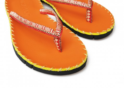 Yoga Sandale - orange
