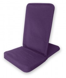 Silla de meditación plegable - Folding Backjack purple