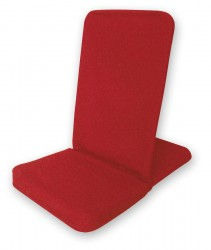 Silla de meditación plegable - Folding Backjack red