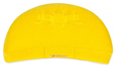 Meditationskissen Darshan Neo - Lotus - Halbmond lemon