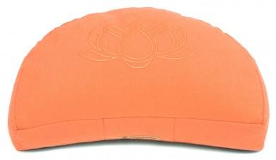 Meditationskissen Darshan Neo - Lotus - Halbmond apricot