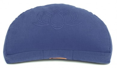 Meditationskissen Darshan Neo - Lotus - Halbmond blau