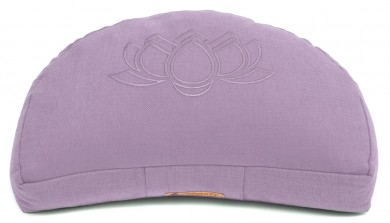 Meditation cushion 'Darshan Neo' - Lotus, half moon lilac