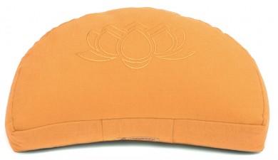 Meditationskissen Darshan Neo - Lotus - Halbmond orange