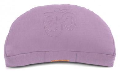 Meditationskissen Darshan Neo - OM - Halbmond flieder