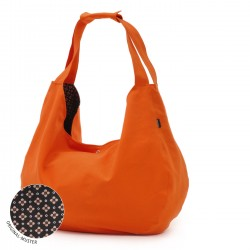 Yoga carrybag active - maxi big - cotton orange