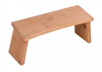 Meditation stool - alderwood classic static