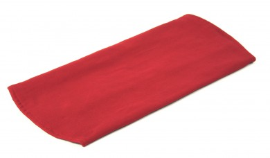 Seat cushion for meditation stool red
