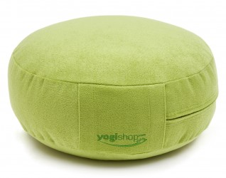 Meditation cushion 'BASICS', round green