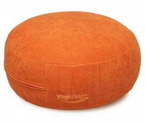 Meditationskissen BASICS, rund orange
