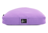 Meditation cushion - half moon lilac