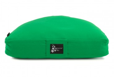 Meditation cushion - half moon spring green