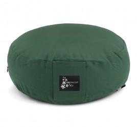 Meditation cushion - round green