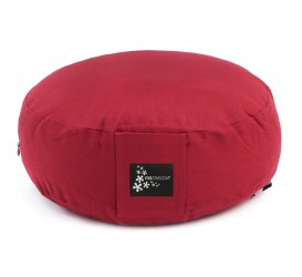 Meditation cushion - round red