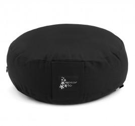 Meditation cushion - round black