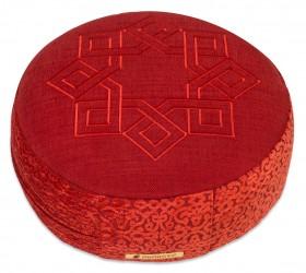 Meditationskissen Sangit, rund Sufidance malve