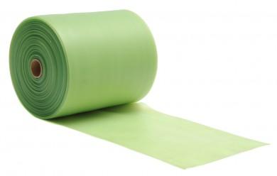 Banda elástica para pilates, sin látex, rollo de 25 m grün, medium