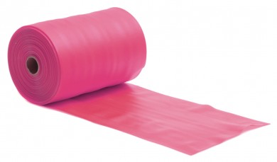 Pilates Stretchband - latexfrei - 25m Rolle Pink - Soft